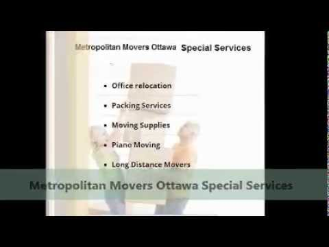 Metropolitan Movers Ottawa - Get A Moving Quote