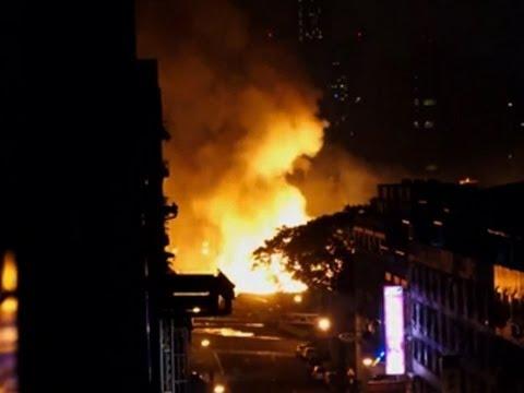 Raw: Deadly Taiwan Gas Leak Explosion