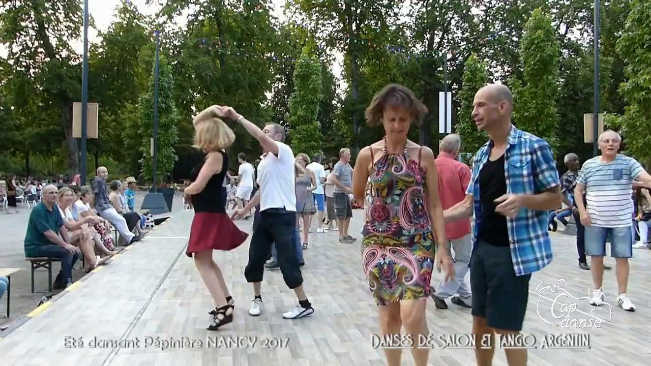 ete dansant pepiniere de nancy 2017 danses de salon tango argentin