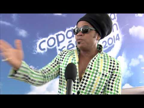 Rio 2: Carlinhos Brown New Year's in Copacabana Interview