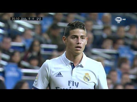 James Rodriguez vs Deportivo La Coruna Home HD (10/12/2016) by JamesR10™