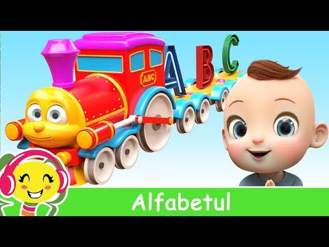 Alfabetul pentru copii in romana  Cantecul alfabetului – CanteceGradinita – Cantece pentru copii in limba romana