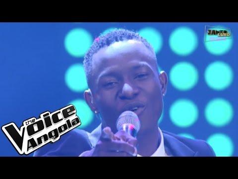 "Paulo Silva cantou ""Luzingo Malembe"" / The Voice Angola 2015/ Show ao Vivo 1"