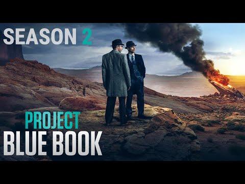 "The New 2020 UFO Drama Series ""Project Blue Book"" Season 2 (Trailer) - FindingUFO"