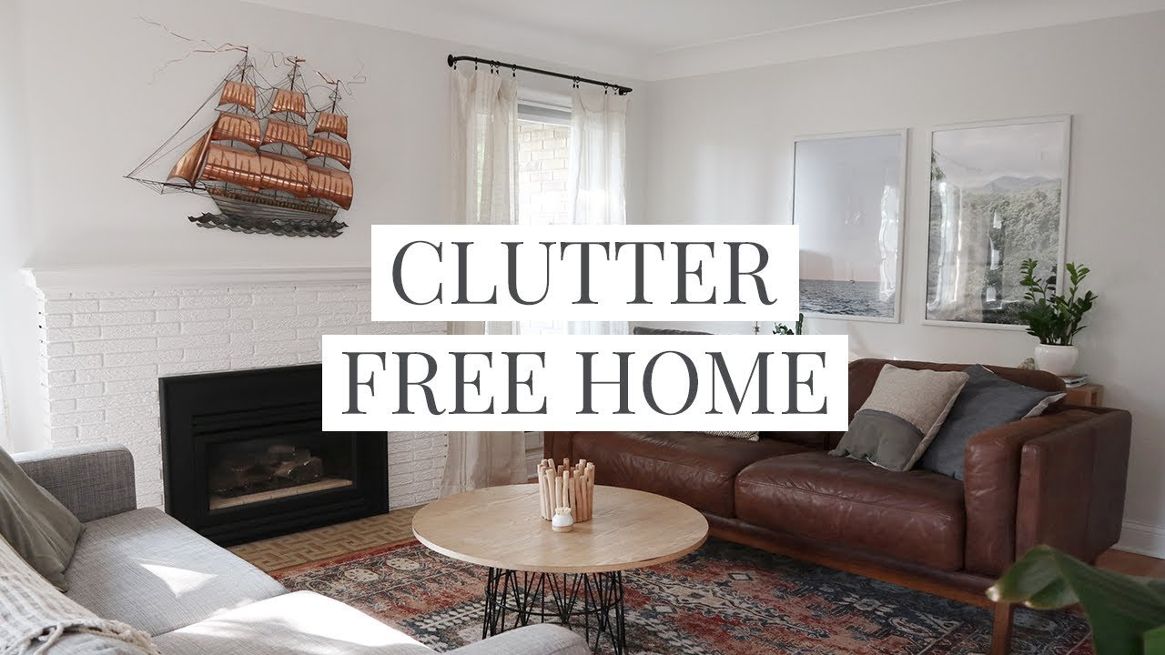 14 Clutter-Free Home Tips & Habits - YouTube