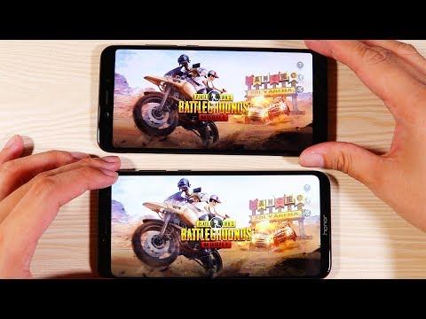 Honor Play Vs Xiaomi Mi A2 Speed Test and Pubg Comparison