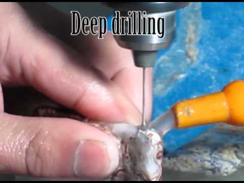 Drilling Gemstones and Semi Precious Stones