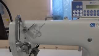 Durkopp Adler 272 візуальний огляд промислової швейної машини.