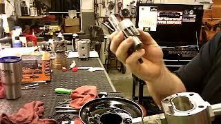 Hydraulic pump seal install.