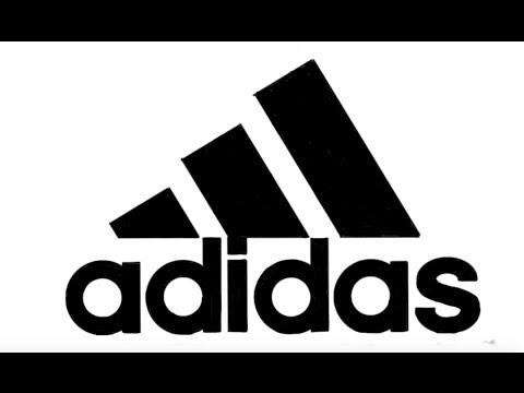 adidas logo lets draw youtube