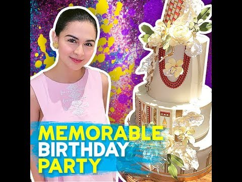 Memorable birthday party - KAMI - Marian Rivera, who turned 35 years old, couldn't be more grateful - 동영상