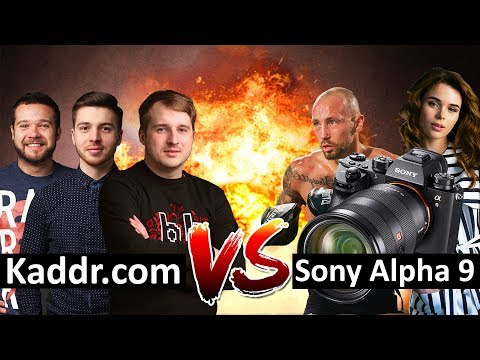 Sony Alpha 9 - Презентация камеры в Киеве