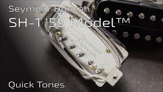 Seymour Duncan SH-1 '59 Model™ Vintage Blues Set - Quick Tones