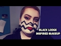 BLACK LODGE INSPIRED MAKEUP // SAL MANATEE #1