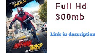 How to download Ant Man and the Wasp (2018) Hindi Dubbed HDCAM 480p HD