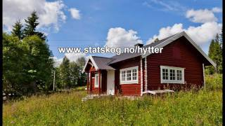 Statskogs (the Norwegian state-owned land and forest enterprise) utleiehytter / cabins for rent