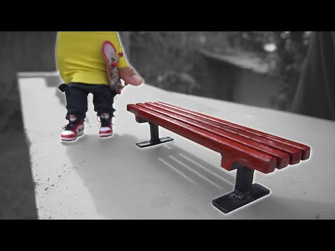 DIY Bench - FingerBoard Style