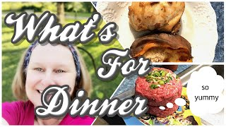 #WhatsForDinner / Beth's Dinners / Cook With Me / Easy Summer Dinner Ideas