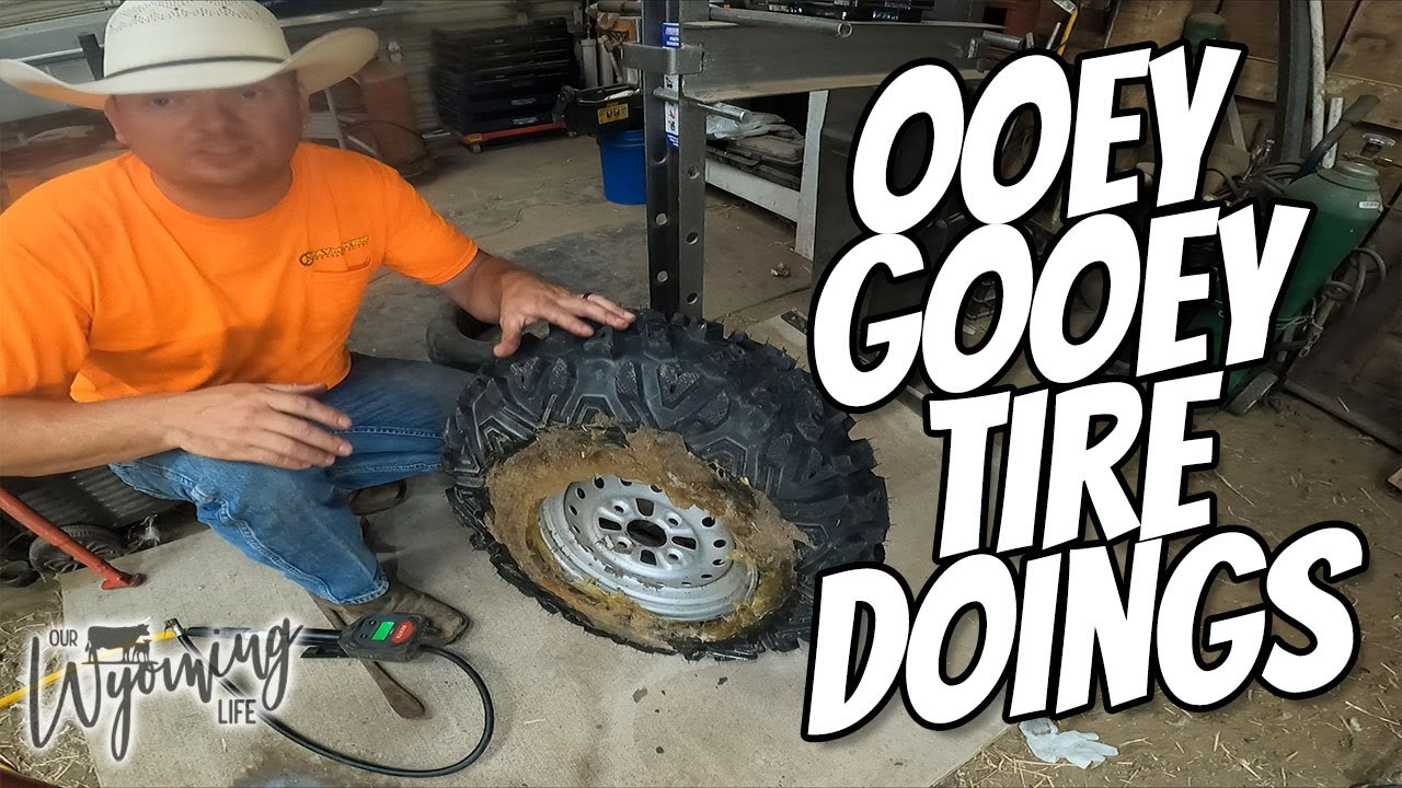 New Tires on the ATV