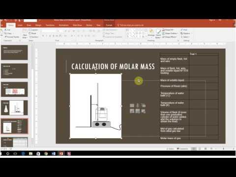 Lab 8 Molar Mass Volatile Liquid