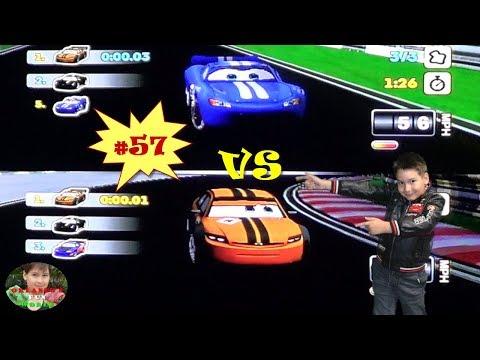 DISNEY PIXAR CARS - MATER NATIONAL - PART#57 - STADIUM RACES 2 - MCQUEEN VS OTTO REMATCH
