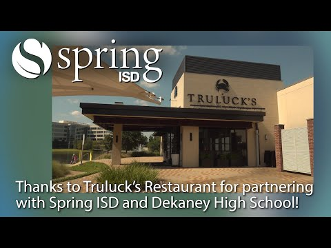 Truluck's Restaurant Brings Virtual Culinary Class to Dekaney High School