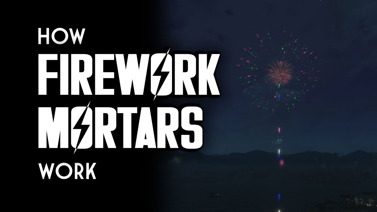 hight resolution of how firework mortars work fallout 4 contraptions workshop