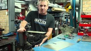 hand cutting sheet metal tutorial