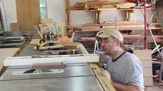 Make A Table Saw Fence Alignment Jig