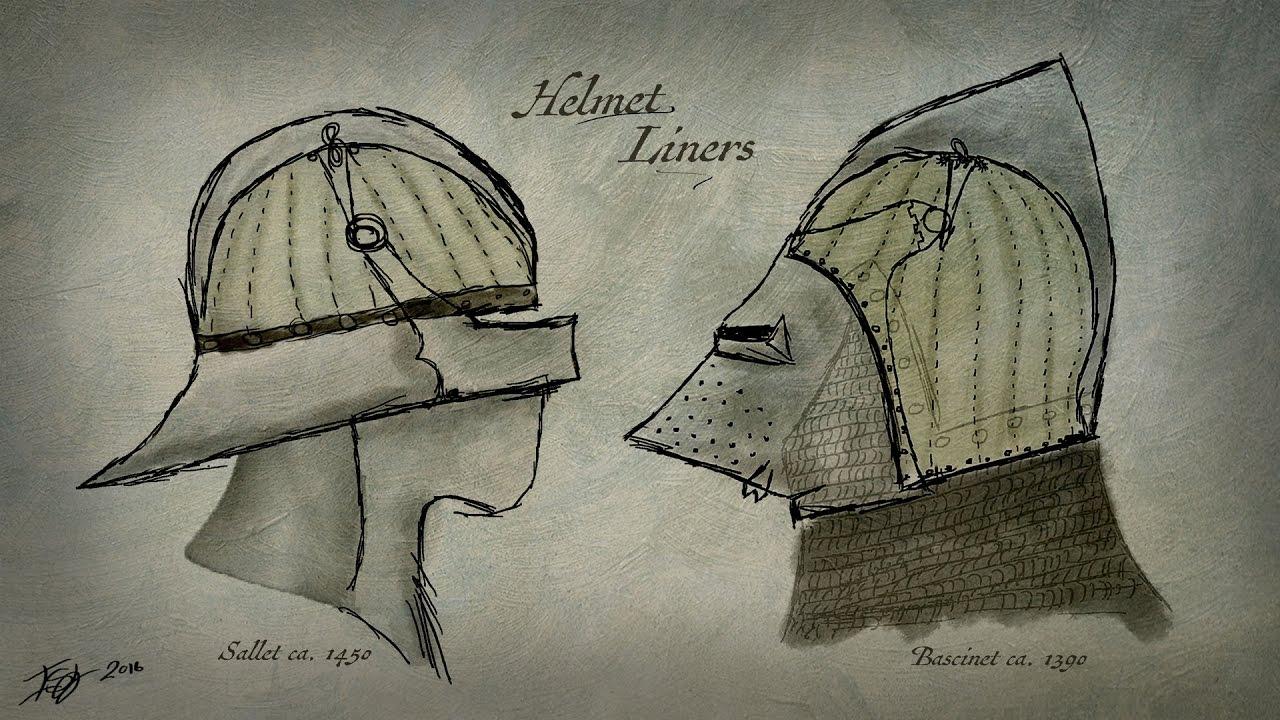 Medieval Helmet Liners