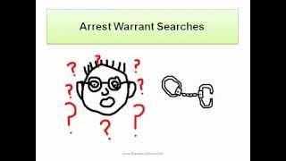Arrest Warrant Searches