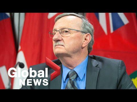 Coronavirus outbreak: Ontario reports 347 new COVID-19 cases, 45 new deaths | FULL