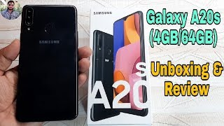 Samsung Galaxy A20s Unboxing and First Look?