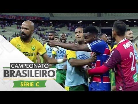 Melhores Momentos - Fortaleza 1 x 1 Cuiabá - Série C (13/08/17)