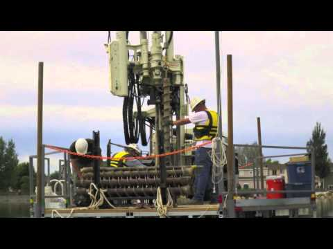 Geotechnical Environmental Barge Drilling in Colorado