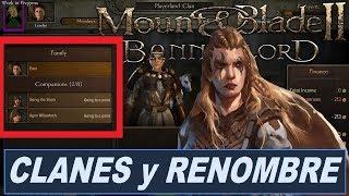Gambar cover Mount & Blade 2 BANNERLORD - CLANES y RENOMBRE del CLAN (Noticias Español)