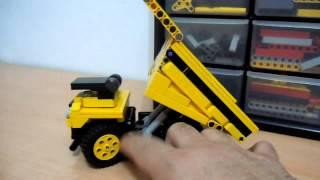 Preview lego technic mining dump truck