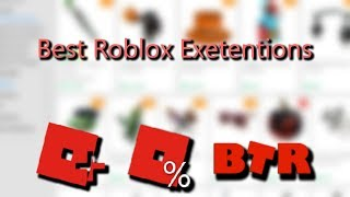 The best Roblox extensions