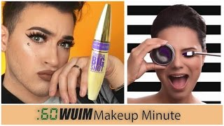 Makeup Minute | Manny MUA X Maybelline! First Male Spokesperson! + New Products and Sneak Peeks!