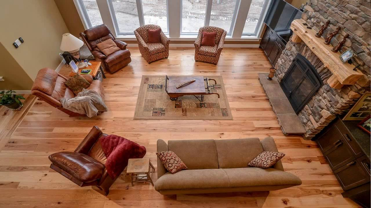 Home Tour Hickory Natural Distressed Walnut Lord Hardwood Flooring