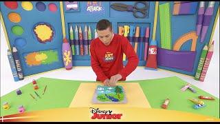 Art Attack#1: Leg med farver - Disney Junior Danmark