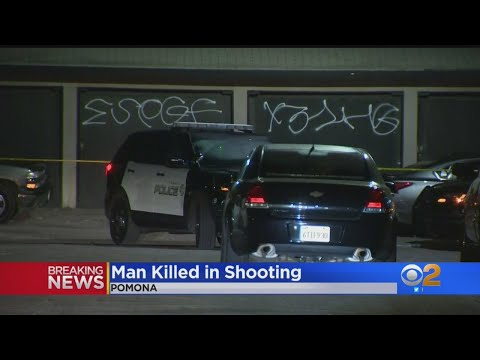 Man Fatally Shot In Pomona