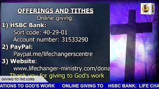 Life Changers Service