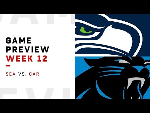 Seattle Seahawks vs. Carolina Panthers | Week 12 Game Preview | Move the Sticks