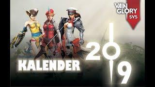 Gambar cover Desain kalender 2019