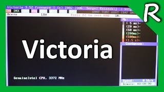 Тестирование HDD Victoria. SMART жесткого диска / HDD Testing [© Игорь Шурар 2015]