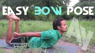 Yoga for Beginners - Easy Bow Pose   Saral Dhanurasana