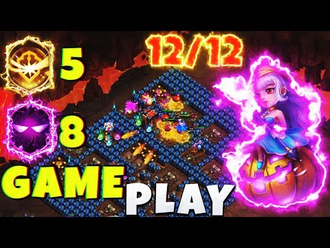 12 Trixie Treat | 8 UNHOLY PACT | 5 SURVIVAL | GAMEPLAY [ CASTLE CLASH ]