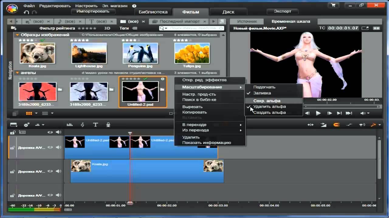 Программа для монтажа видео пинакл студио