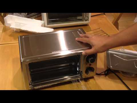 Unboxing my Hamilton Beach 4-Slice Toaster Oven, Stainless Steel from Walmart $19